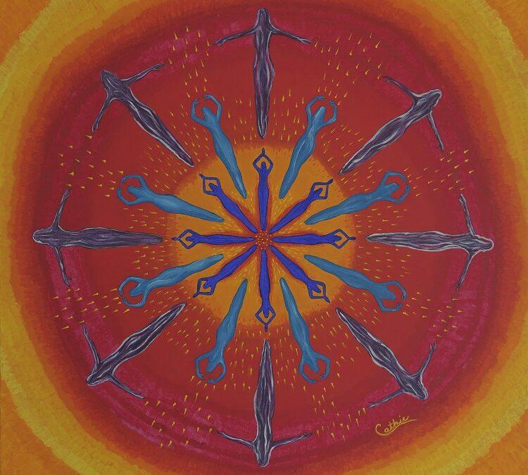 Mandala de color y energía