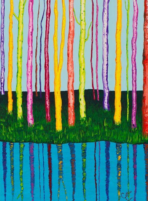 Arboles de colores