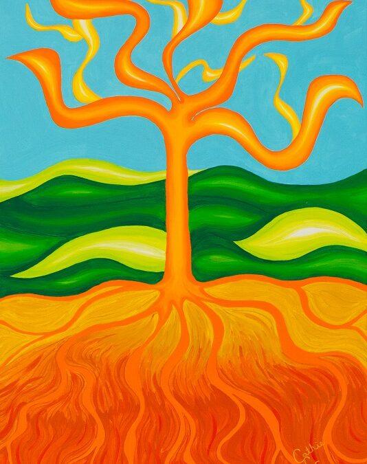 Árbol fuego